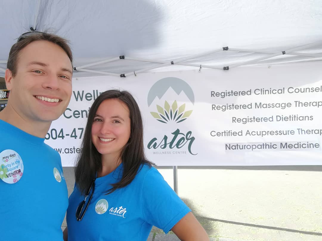 James and Lynn Aster Wellness Post Coquitlam