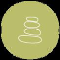 Balancing rocks icon